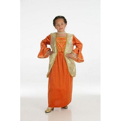Traje de Duquesa laranja