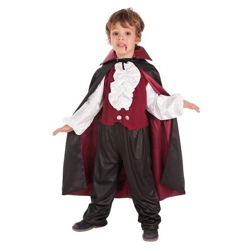 Vampiro de criança traje Draculin