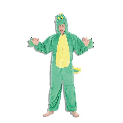 Fantasia adulto Dino verde