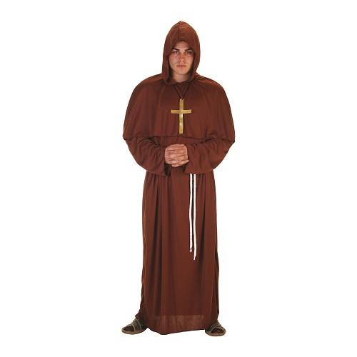 Traje de monge adulto