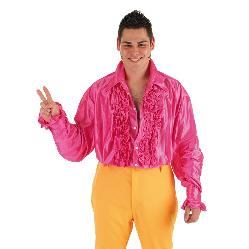 Camisa fantasia dança Fuscia