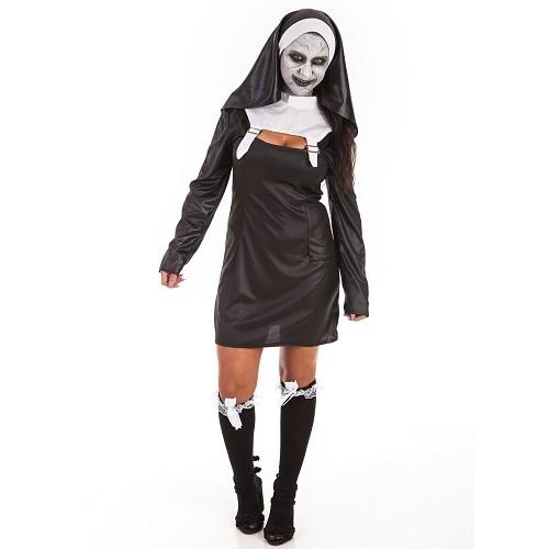 Fantasia adulto doce freira