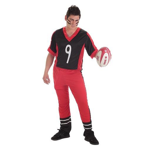 Fantasia Adulto de jogador de Rugby