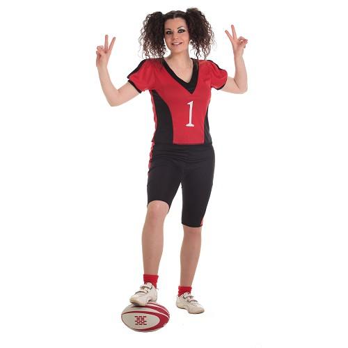 Jogador de adulto traje de Rugby