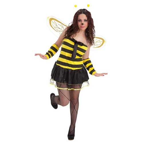 Gravata de fantasia abelha adulto