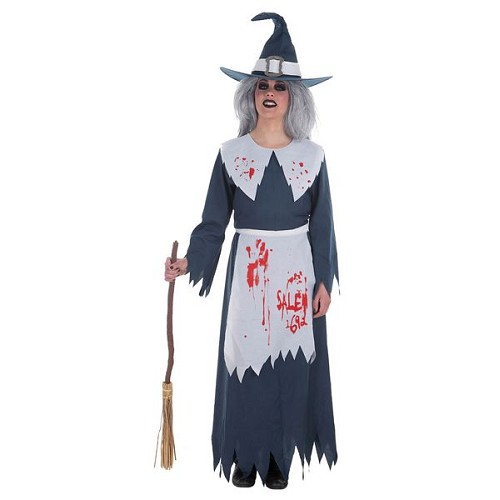 Fantasia adulto bruxa de Salem