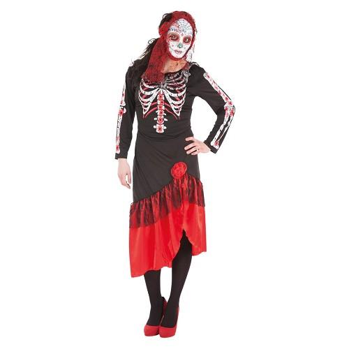 Catrina vestido traje adulto