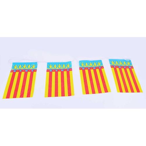 Bandeira de plástico - com. Valencia 50 Mtrs.