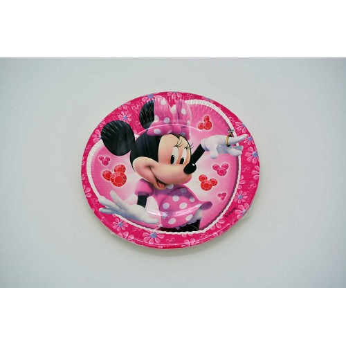 Pratos Minnie20 cm