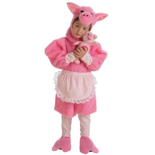 Fantasia infantil porco