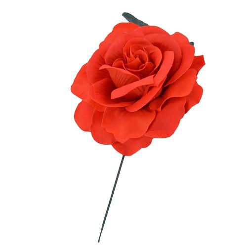 Rosa laranja 15cm