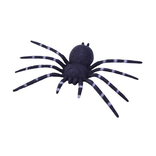 24 cm H0040 aranha de plástico preto