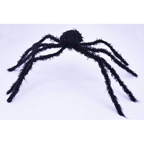 97 cm preto H0041 aranha peludo