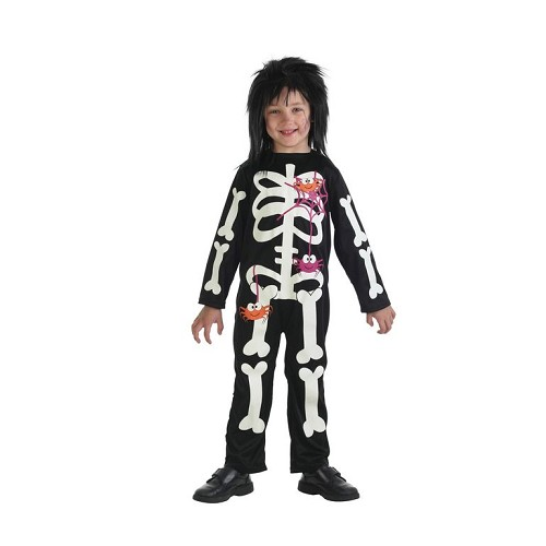 Disfraz Infantil Esqueleto Arañas