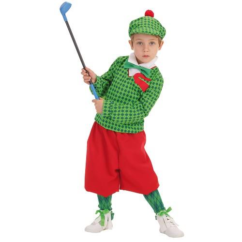 Jogador de criança traje Golf