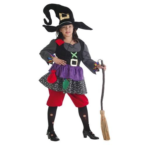 Bruxa de criança traje Colorines
