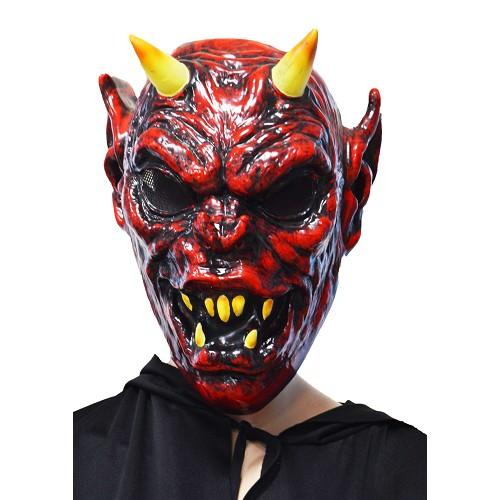 Horned máscara de demônio H0115