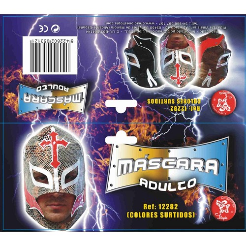 Mascara cobra Wrestler 8422802122827