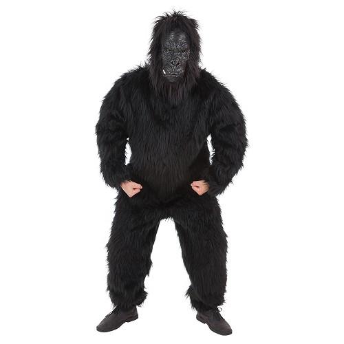 máscara de gorila completa