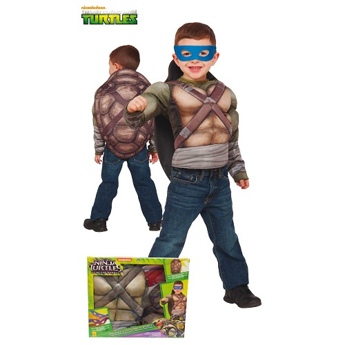 Costume peito musculoso Tortugas Ninja 2 Crianças