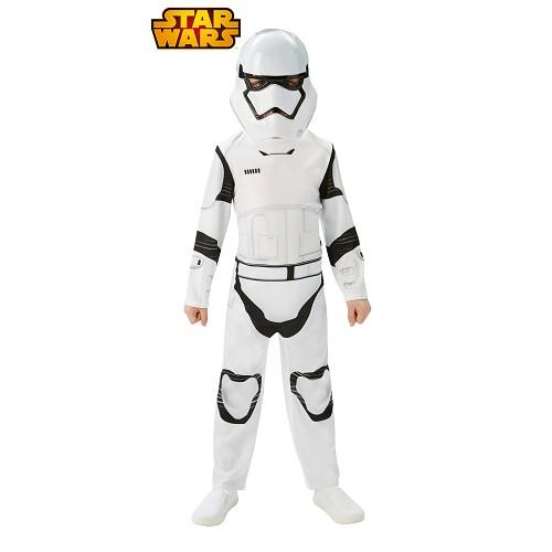 Stormtrooper Criança clássico EP7 Costume