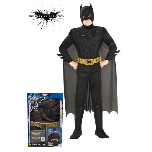 Sobe traje de Batman Tdk Muscular Segurança Infantil