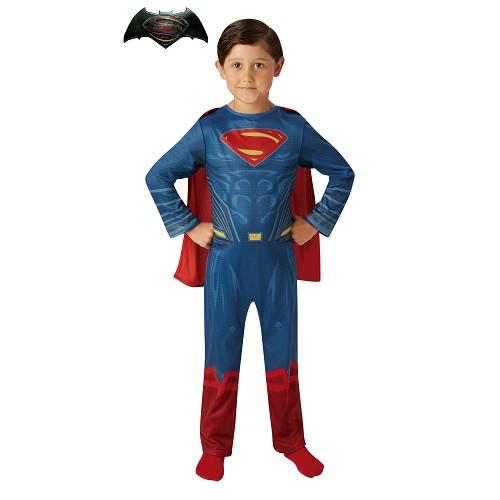 Traje Superman clássico Criança DOJ