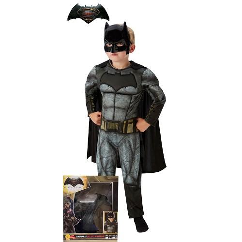 Batman traje DOJ Muscular Segurança Infantil