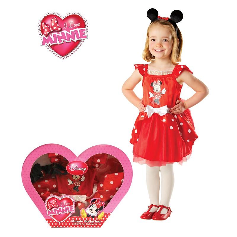 Minnie Mouse Ballerina traje In Box