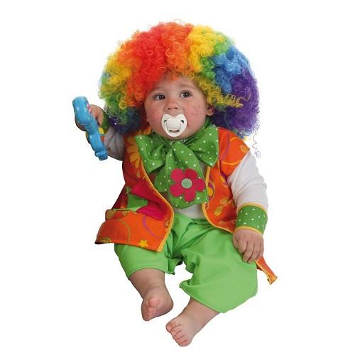 Disfraz Bebe Payaso Risitas (0 a 12 meses)