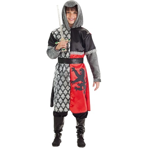 Criança costume cavaleiro Leon