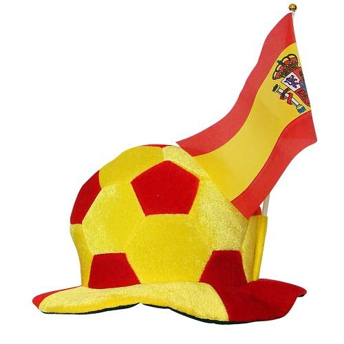 Balão do chapéu Espanha C / bandeirola