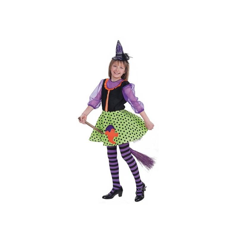 Bruxa de criança fantasia lua