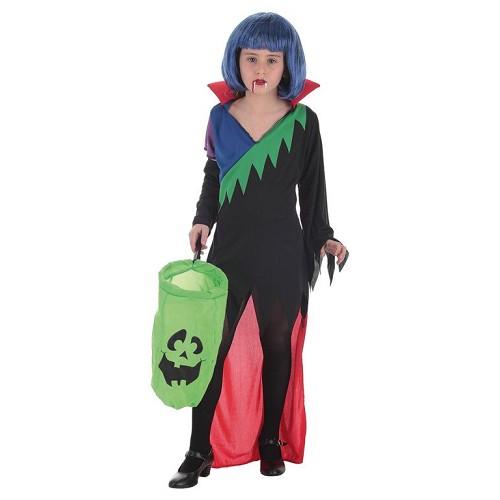 Disfraz Infantil Vestido Multicolor