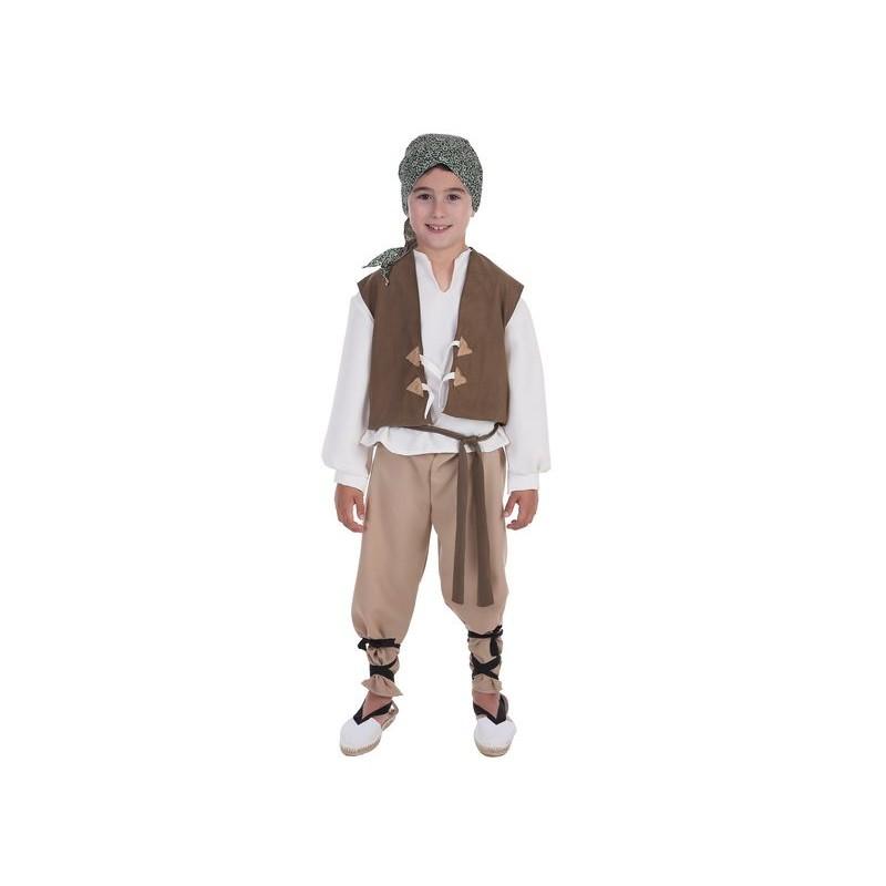 Disfraz 100% fabricado en España Fantasia de criança camponesa Mario 365541c5dde