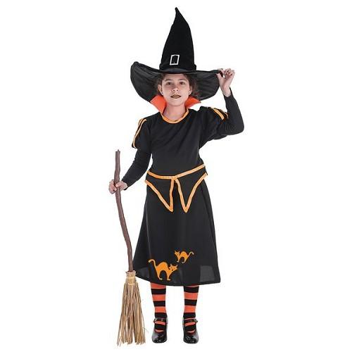 Fantasias infantis bruxa Carol