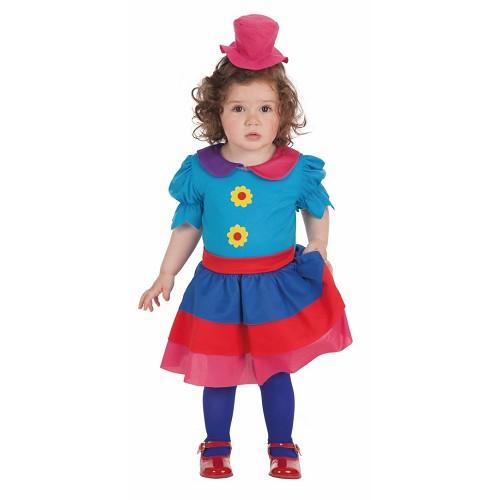 Disfraz Payasa Krispina Bebe ( 0 a 12 mese )