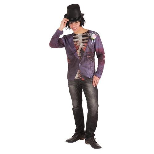 Disfraz Camiseta Novio Cadaver Adulto