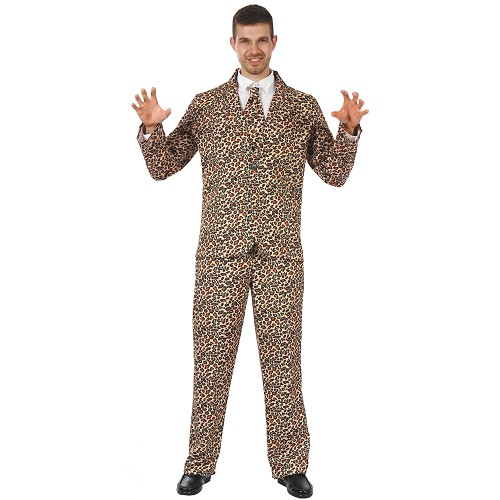 Disfraz Suits Leopard Adulto