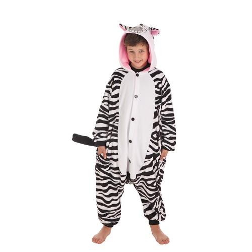 Disfraz Pijama Zebra Infantil