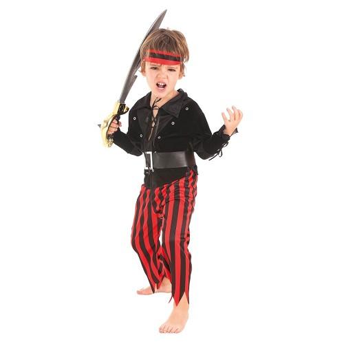 Disfraz Pirata Rojo infantil