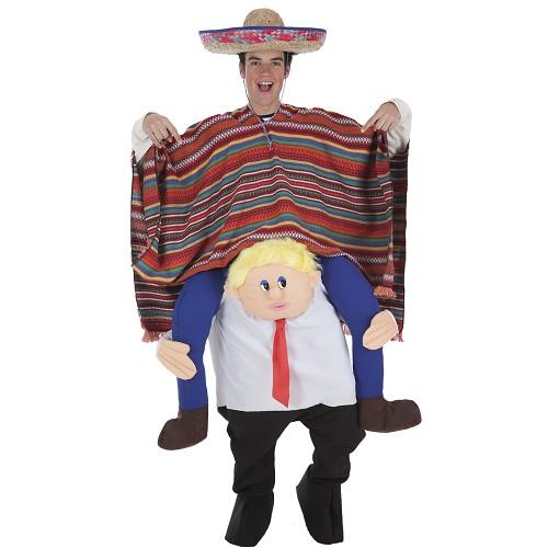 Disfraz A Hombros Mister Donald con Mexicano