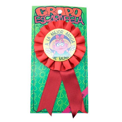"""Medalla """"1Er Premio A La Mejor Amiga Del Mundo"""""""