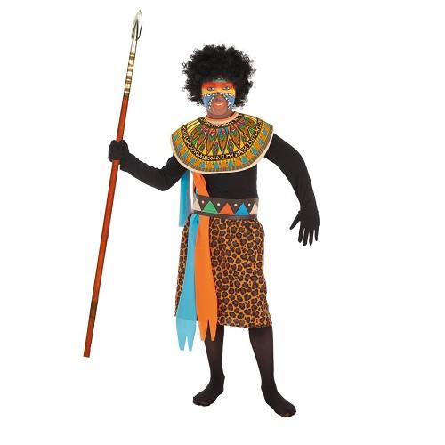 Criança traje Africano