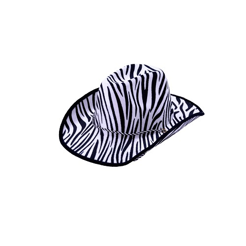 Sombrero Vaquero Zebra