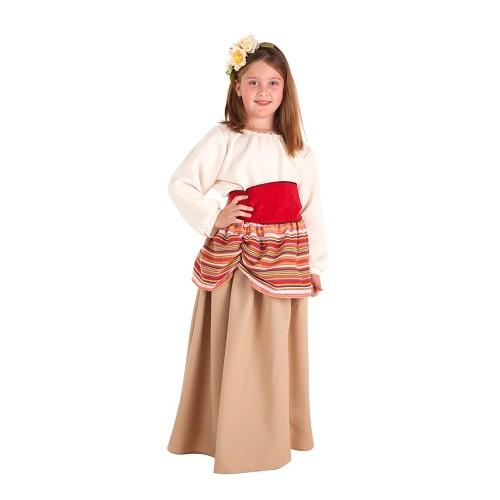 Fantasia de criança camponesa Carlota