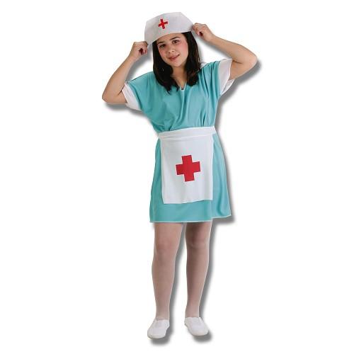 Enfermeira de fantasia infantil