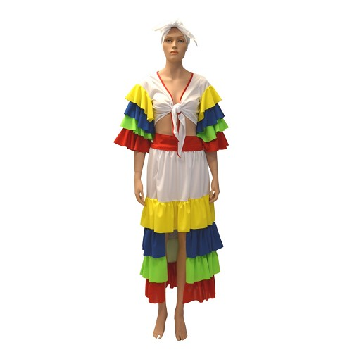 Disfraz Cubana Infantil