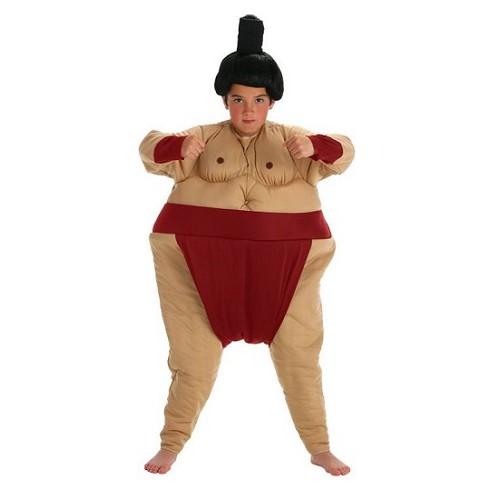 Fantasia infantil de sumô