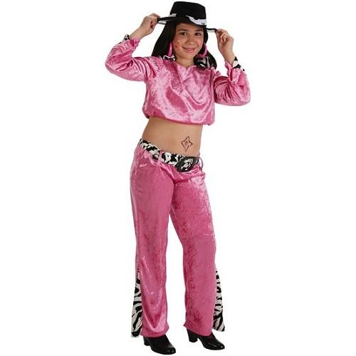 Cantora Pink fantasia infantil